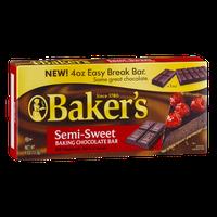 Baker's Semi-Sweet Chocolate Baking Bar