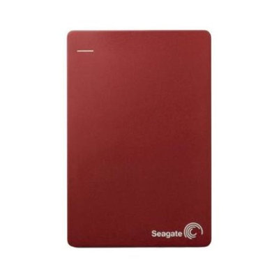 Refurbished Seagate Backup Plus External Hard Drive Slim Portable 1 Terabyte USB 3.0 RED