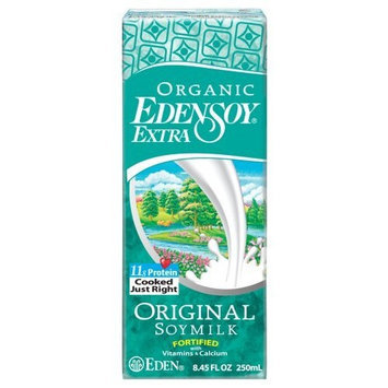 EdenSoy Organic Soymilk, Original with Vitamins & Calcium, 8.45-Ounce Boxes (Pack of 27)