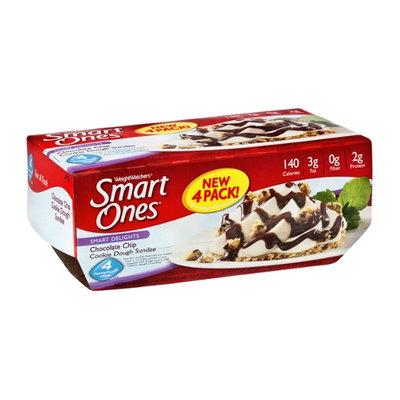 WeightWatchers Smart Ones Smart Delights Chocolate Chip Cookie Dough Sundae - 4 CT