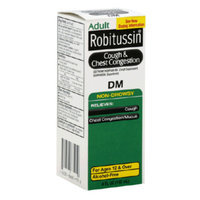 Robitussin DM Cough & Chest Congestion - Non-Drowsy, 4 oz
