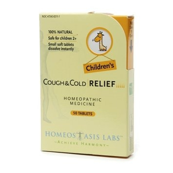 Homeostasis Labs Children's Cough & Cold Relief