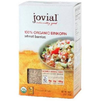 Jovial Einkorn Wheat Berries, Organic, 16 Ounce (Pack of 4)
