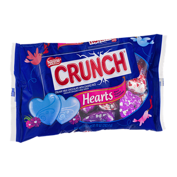 Nestlé Crunch Hearts Heart Shaped Chocolates