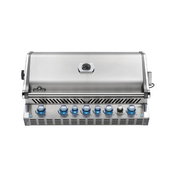 Napoleon BIPRO665RBNSS Built In Gas Grill with Infrared Rear Burner