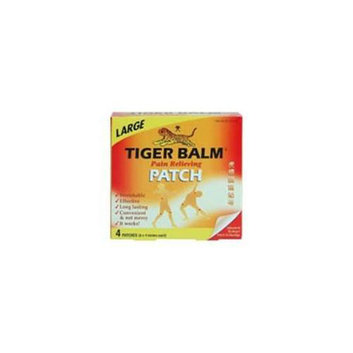 Tiger Balm Tiger Balm Patches Pain Relieving Patch  Large 8x 4 4 count 220702