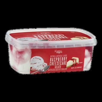 Simply Enjoy Gelato Raspberry Cheesecake