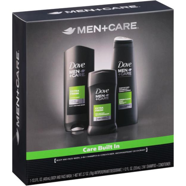Dove Men + Care Extra Fresh Hygiene Kit