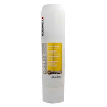 Goldwell Dual Senses Rich Repair Conditioner for Dry, Damaged or Stressed Hair, 10.1 fl oz