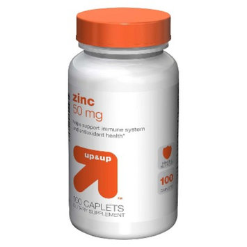 up & up up&up Zinc 50 mg Caplets - 100 Count