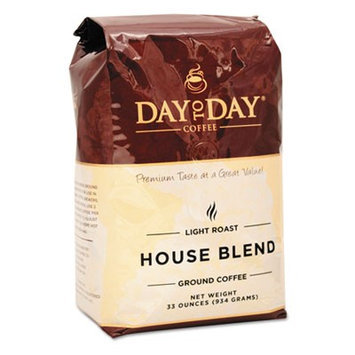 Day to Day Coffee PCO33100 100% Pure Coffee; House Blend; Ground; 33 oz. Bag