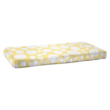 Nook Riverbed-Daffodil Fitted Crib Sheet