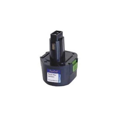 TopCell DW-9614 9. 6-Volt 1. 4 Amp Hour NiCad Pod Style Replacement Battery for DeWalt
