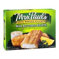 Mrs. Paul's Fillets Beer Battered - 10 CT