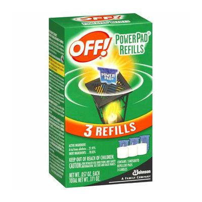 OFF! Mosquito Lamp Refill 3 Ct