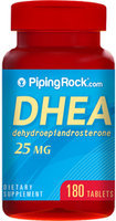 Piping Rock DHEA 25mg 180 Capsules