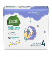 Seventh Generation Stage 4 Overnight Baby Diapers