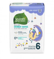 Seventh Generation Stage 6 Overnight Baby Diapers