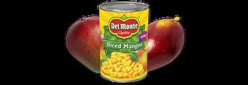 Del Monte® Diced Mangos