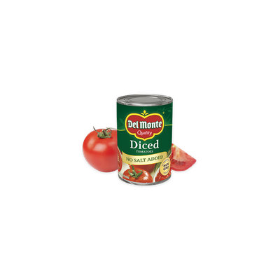 Del Monte® Diced Tomatoes - No Salt Added