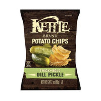 Kettle Brand® Thick+Bold Dill Pickle Potato Chips
