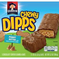 Quaker® Chewy Dipps Granola Bars Peanut Butter
