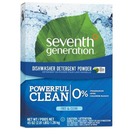 Seventh Generation Free & Clear Dishwasher Detergent Powder