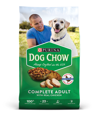 Purina Dog Chow Dry Dog Food; Complete Adult With Real Chicken