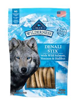 THE BLUE BUFFALO CO. BLUE™ WILDERNESS® Denali Stix™ with Wild Salmon, Venison & Halibut