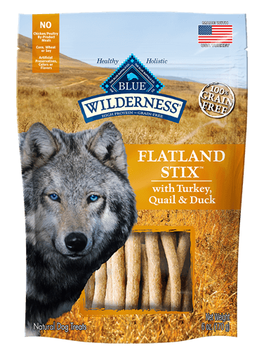 THE BLUE BUFFALO CO. BLUE™ WILDERNESS® Flatland Stix™ with Turkey, Quail & Duck