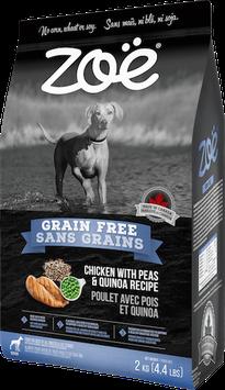 Zoe Grain Free Chicken With Peas & Quinda Recipe