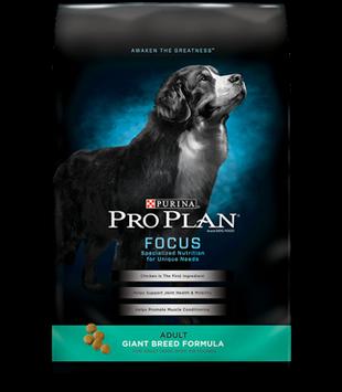 PRO PLAN® FOCUS ADULT Giant Breed Formula