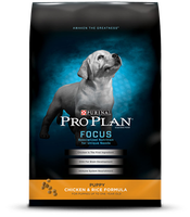 PRO PLAN® FOCUS PUPPY Chicken & Rice Formula