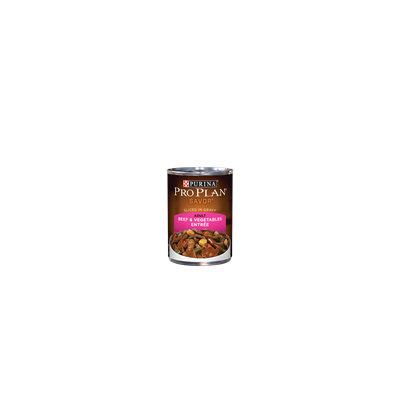 PRO PLAN® SAVOR® ADULT Beef & Vegetables Entree Slices In Gravy