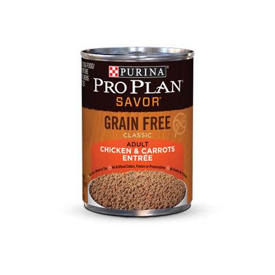 PRO PLAN® SAVOR GRAIN FREE ADULT Classic Chicken & Carrots Entree