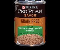 PRO PLAN® SAVOR GRAIN FREE ADULT Classic Turkey & Sweet Potato Entree