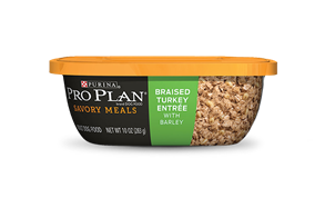PRO PLAN® SAVOR® ADULT Savory Meals Braised Turkey Entree With Barley