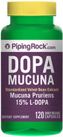 Piping Rock Dopa Mucuna Pruriens 350mg Extract 120 Capsules