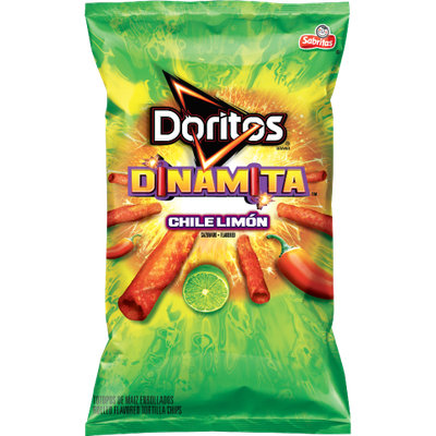 Doritos® Dinamita® Chile Limon  Flavored Rolled Tortilla Chips