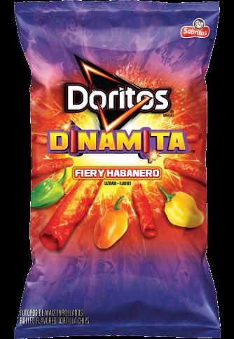 Doritos®  Dinamita®  Fiery Habanero Flavored Rolled Tortilla Chips