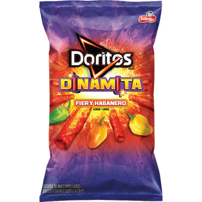 Doritos®  Dinamita®  Fiery Habanero Flavored Rolled Tortilla Chips