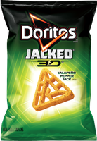 Doritos Jacked 3D Jalapeno Pepper Jack Tortilla Snacks