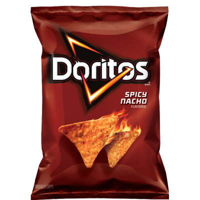 Doritos® Spicy Nacho  Flavored Tortilla Chips