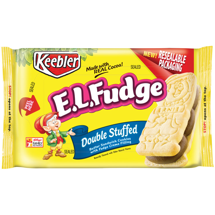 Keebler E.L.Fudge Double Stuffed Cookies Reviews in 2018