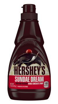 Hershey's Sundae Double Chocolate Syrup