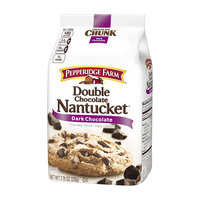 Pepperidge Farm Double Chocolate Nantucket Dark Chocolate Chunk Crispy Cookies