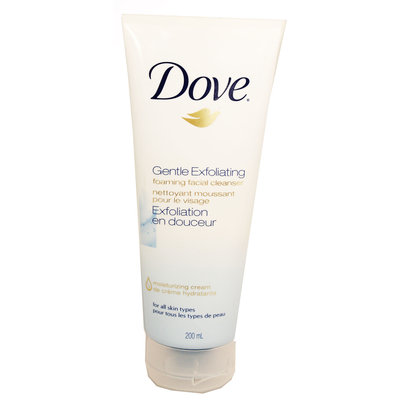 Dove Gentle Exfoliating Foaming Facial Cleanser