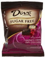 Dove Dark Chocolate Sugar Free Raspberry Creme