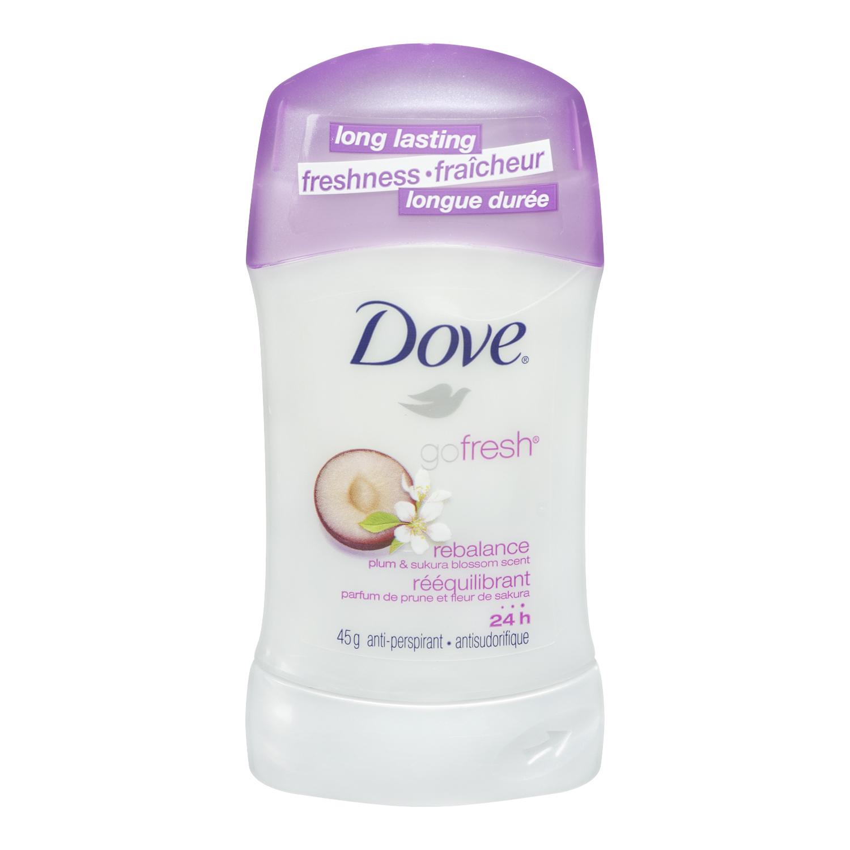 Dove® Go Fresh Rebalance Antiperspirant Deodorant