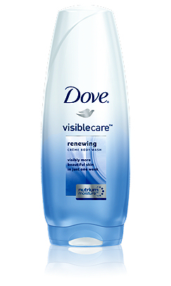 Dove Visiblecare Renewing Creme Body Wash